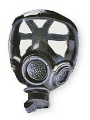 MSA Millennium® CBRN Gas Mask SIZE MEDIUM 10051287MSA W/ CLEAR OUTSERT