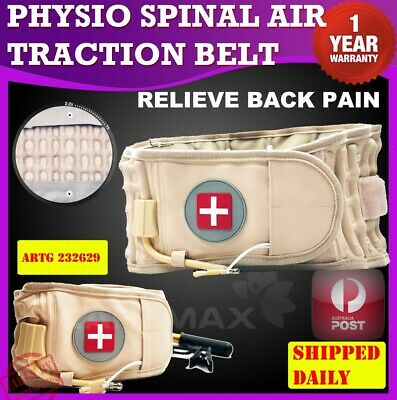 Dr Physio Back Belt Spinal Ho Lumbar Support Decompression Pain AirTraction Belt