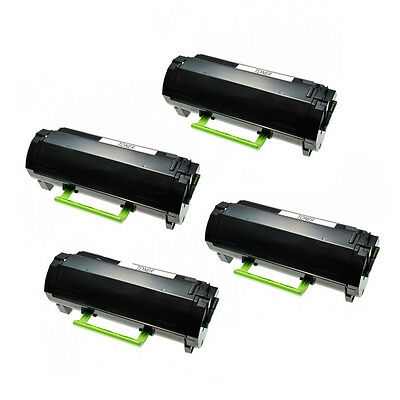 4PK toner for Lexmark MS310d MS310dn MS312DN 50F1H00 50F1000 501H 5000 pages