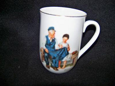 Norman Rockwell Coffee Cup Mug - The Lighthouse Keepers Daughter