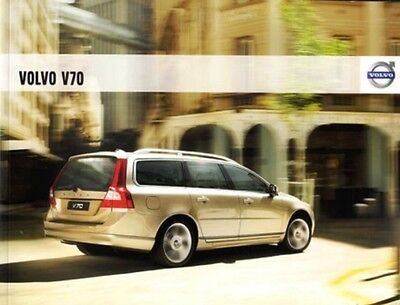 2009 09  Volvo V70 original sales brochure Mint