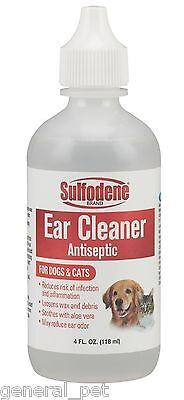 Sulfodene Brand Ear Cleaner for Dogs & Cats, 4 oz