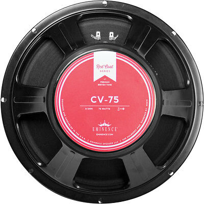 "Eminence Red Coat CV-75 12"" Guitar Speaker 8 Ohm"