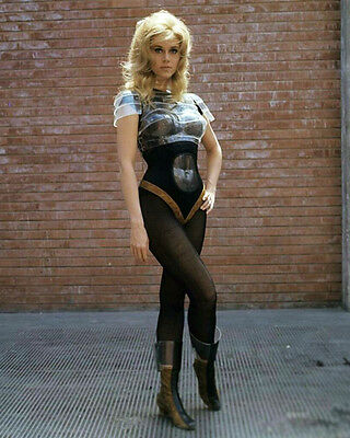 Jane Fonda as Barbarella Colour Pose 10x8 Photo