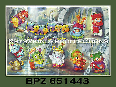 BPZ kinder Personnage Kukomons Tomatello 651443 Allemagne 2000