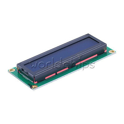 2PCS 1602 16x2 HD44780 Character LCD Display Module LCD Blue Backlight