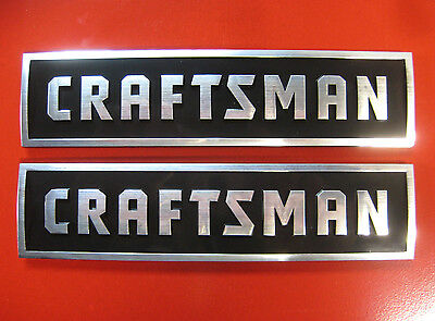 2 Craftsman New Style Tool Box Badges Chest Cabinet Emblem Decal Sticker Logo