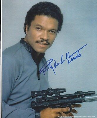 Billy Dee Williams - Star Wars signed photo