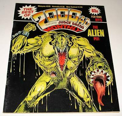 The Best of 2000ad Featuring JUDGE DREDD Monthly Comic Magazine # 5  Feb 1986 FN