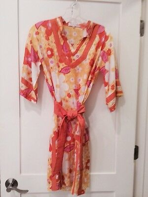 FABULOUS Monique Leshman Tunic Style Dress / Cover-up - Size Small - NWOT