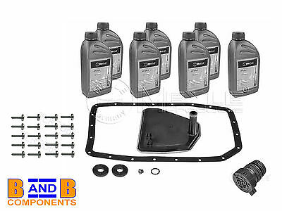 Bmw X5 E53 X3 E83 Automatic Gearbox Transmission Filter Gasket & Oil Meyle A614