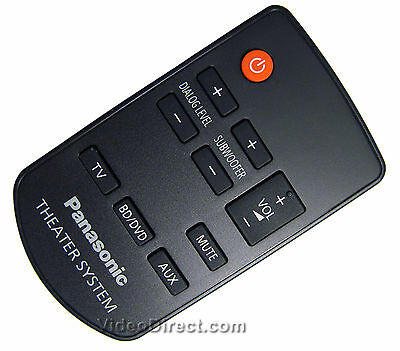 New Panasonic N2QAYC000064 Remote Control for SC-HTB20 and SU-HTB20 US SELLER