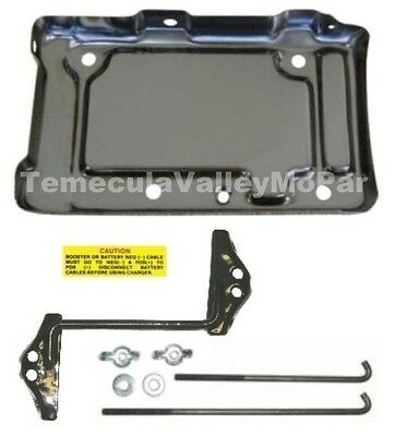 Battery Tray & Hold-Down Set for 1967-1969 Imperial