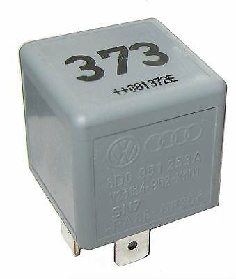 Relay 373 genuine AUDI VW Part Number: 8D0951253A (8D0 951 253A) BRAND-NEW