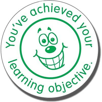 ST60 You've Achieved Your Learning Objective Pre-inked School Marking Stamper
