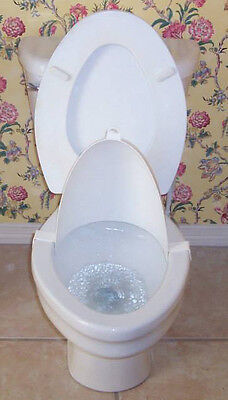 The Splatter Shield - Helps Boys Potty Train & Aim and Keeps Toilet Clean - B620