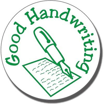 ST29 Good Handwriting Pre-inked School Marking Stamper Primary Teaching Services
