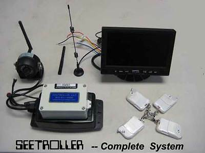 Keytroller - SEETROLLER Digital 1-2-3-4 Wireless Camera System