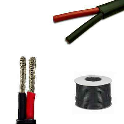 Marine Grade 2 Core Cable - 2 x 1.5mm Tinned Conductors - All Lengths Flat Twin