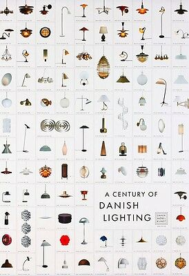 """A Century of Danish Lighting"""" Poster by Various Artists--No frame"""