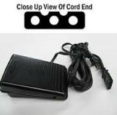 Electronic Sewing Machine & Foot Control Cord #60652