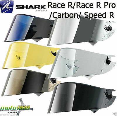 Shark Race-R Pro/Race R/Carbon/Speed R Visors Shield Motorcycle Helmet Road Bike