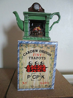 CARDEW TINY TEAPOT,  Fireplace,  Boxed, British Made.