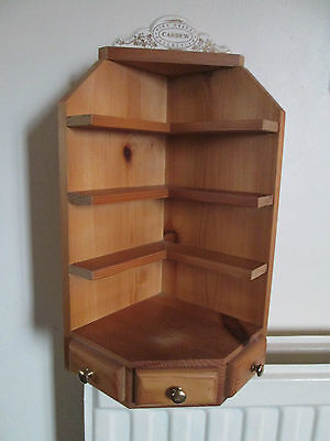 CARDEW TINY TEAPOTS COLLECTION DISPLAY STAND, Wooden, Corner Unit.