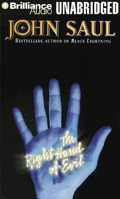 The Right Hand of Evil by John Saul (1999, Cassette, Unabridged)