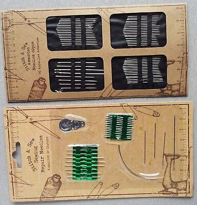 Hand Sewing Repair Needles Threader Embroidery Beading Needle Kit Sale