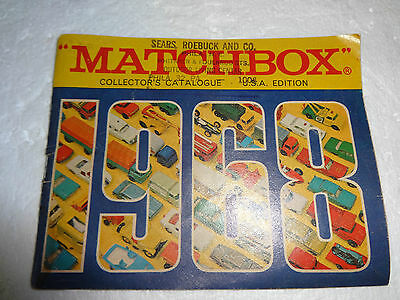 MATCHBOX COLLECTORS CATALOGUE 1968