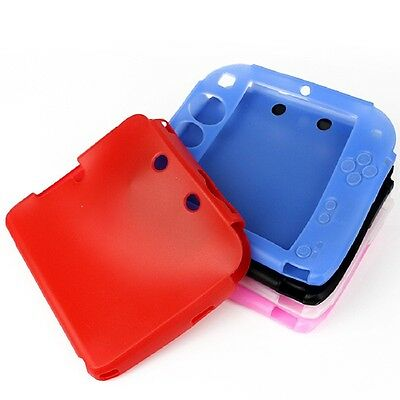 Silicone protective Rubber bumper Gel Skin Soft Case Cover for Nintendo 2DS