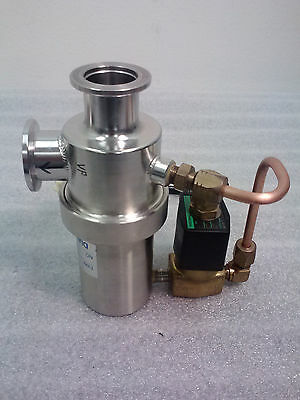 Diavac leak valve / clamp valve, LCLV-25, 12469107-66. with CKD valve (AG31-01-1