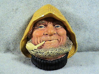 VINTAGE BOSSONS WALL PLAQUE, OLD SALT, 1971
