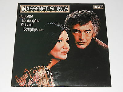Decca SXL 6765 - LP - Huguette Tourangeau - Richard Bonynge - MASSENET Songs