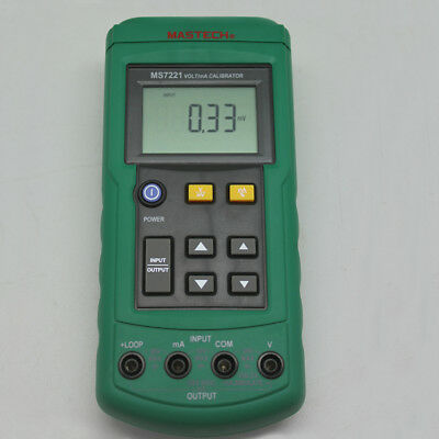 MS7221 40000 VOLT/mA CALIBRATOR vs FLUKE process tester Step source DC A EU ship