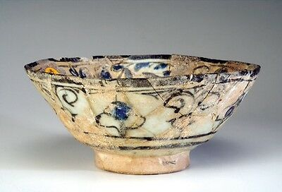Islamic Pottery Bowl  12Th - 14Th Century A.d.