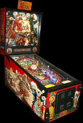 DATA EAST HOOK PINBALL MACHINE-PIRATES!  ROBIN WILLIAMS, DUSTIN HOFFMAN
