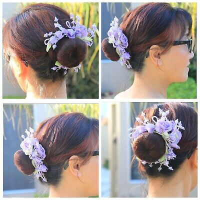 RAD Accessories Ribbon blossoms for ballet bun.