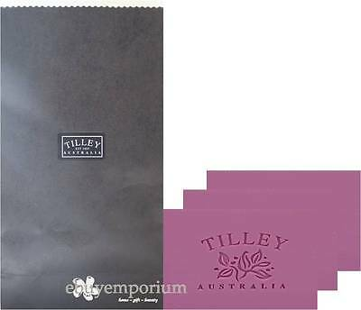 Tilley Soaps X 3 In Gift Bag - Pure Veg. Soap - U Choose Fragrance & Bag Colour