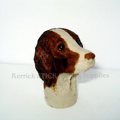 Springer Spaniel Cast Resin Handle For Walking Stick Making