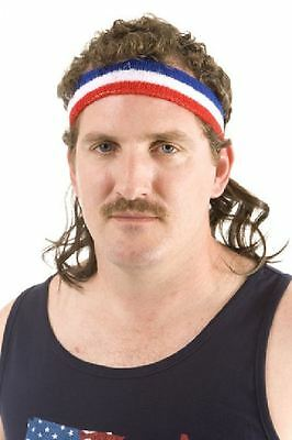 The Bobcat Mullet Wig HeadBand One Size Fits Alll By Mullet on the Go
