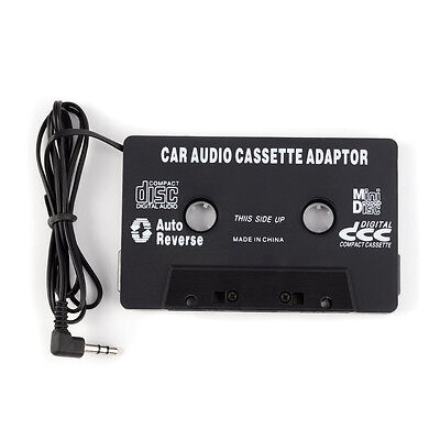 3.5mm Jack Plug Car Cassette Adapter Audio Tape For Converter Deck Nano iPhone