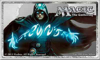 Magic the Gathering / Jace The Mind Sculptor -  1 oz Silver Proof Bar Coin  HOT!