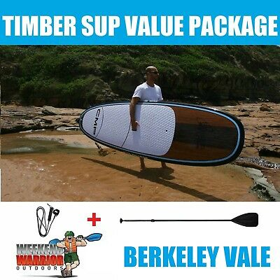 Stand Up Paddle Board PACKAGE with Paddle CMP SUP 10' 10'6 11'4 (Timber Blue)