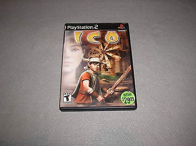 Ico for Playstation 2 PS2 TESTED & WORKING Game in Case Disc is Good