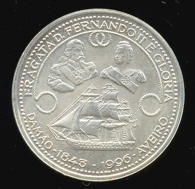 388-INDALO- Portugal. Lovely Silver 1000 Escudos 1996. KM#688. Uncirculated !!!!