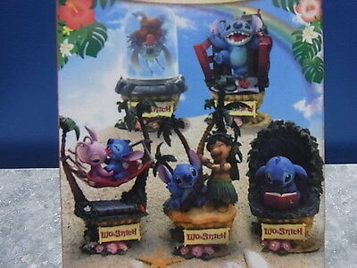 """A Set of 5 Stitch ACTION Figure - IN BOX - 5.0"""""""