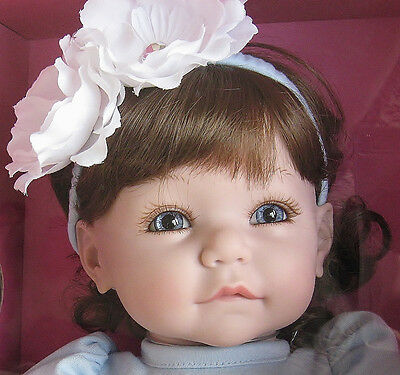 """20"""" PARIS POODLE Premium BABY Doll BY Adora DOLLS ~ Red HAIR and BLUE Eyes"""
