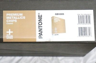 Pantone GB1305 Plus Series Metallic Chips Coated Brand NEW $179 Retail